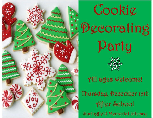 Cookie Decorating Flyer Copy