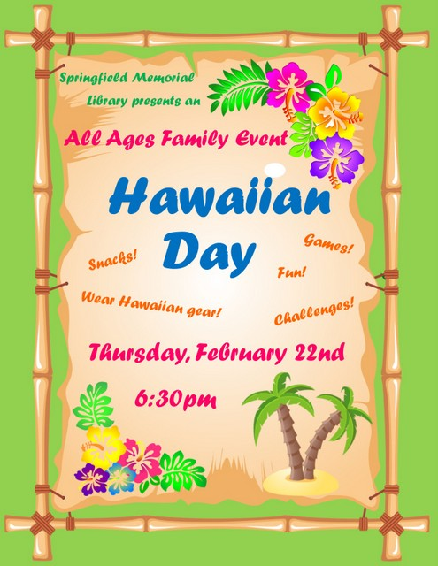 Hawaiian Day Flyer