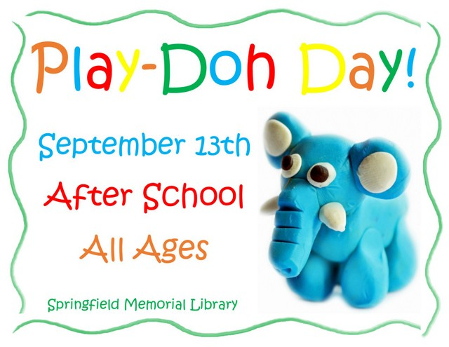 Play doh Day