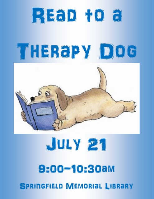Therapy Dogs Flyer