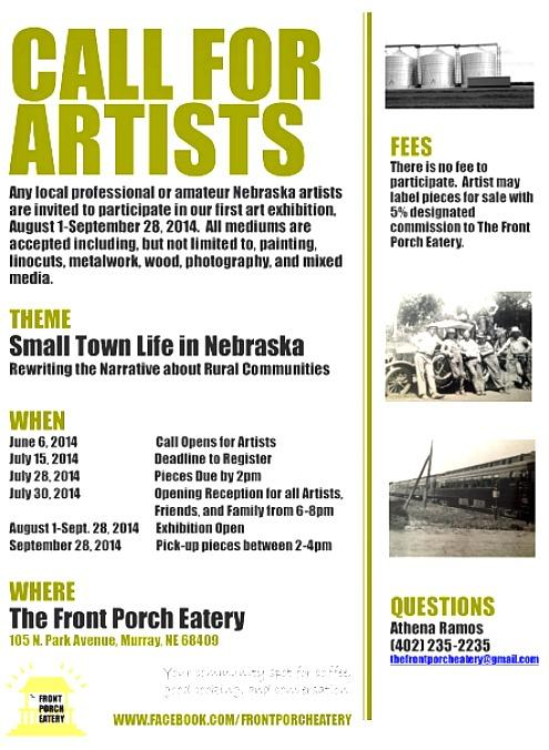 2014-06-11 Call for Artists