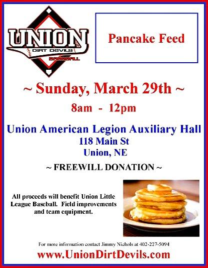 2015 UNION Baseball PancakeFeed