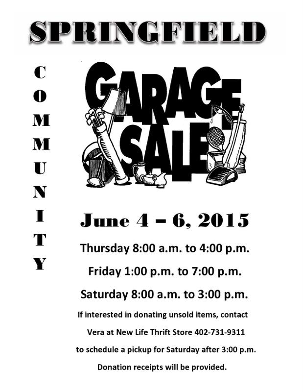 Garage Sale Flyer 2015 page0001