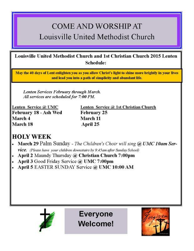 Lent services louisville