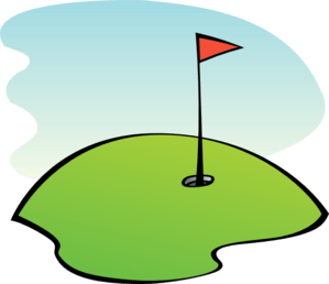 golfing clipart golf green md