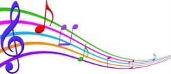 music notes clip art png MUSIC