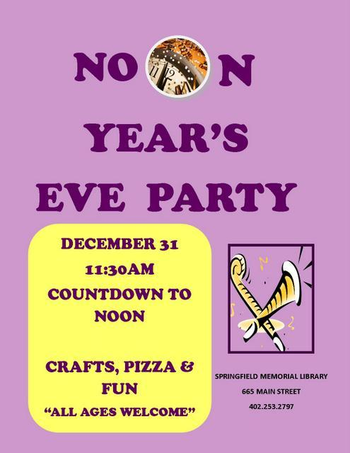 noon years eve