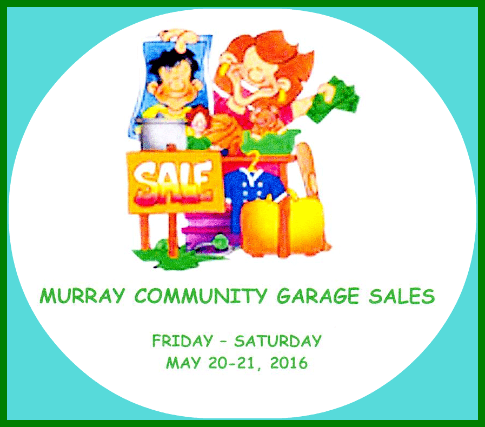 2016 04 13 MURRAY GARAGE SALES