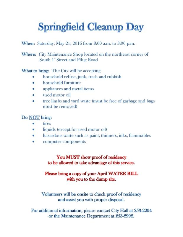 Cleanup Day 2016