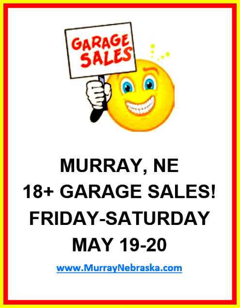 2017 05 10 garage sale flier