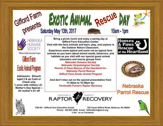 2017 Exotic Animal Day