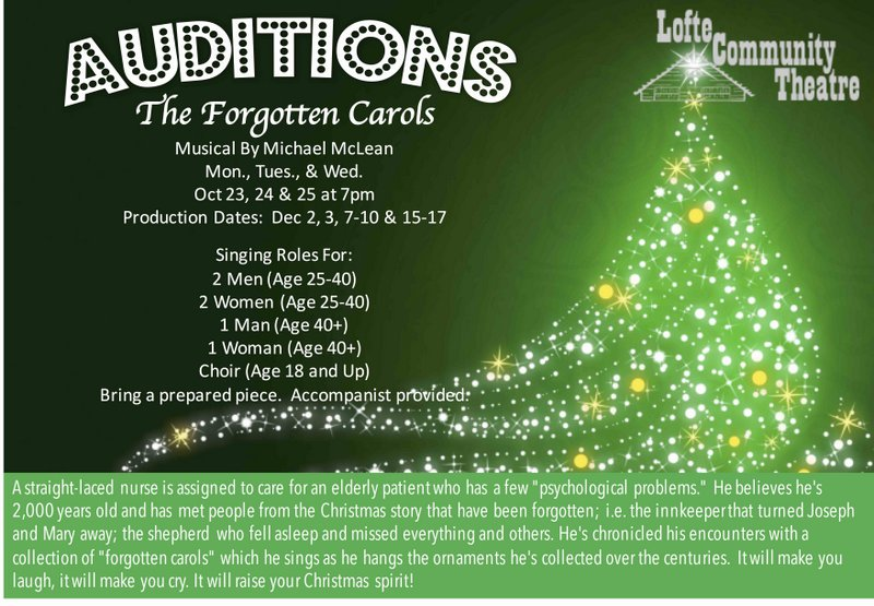 Carols Auditions 2