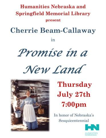 Cherrie Beam Callaway NE Humanities Flyer