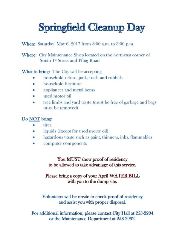 Cleanup Day 2017 Flyer jpg