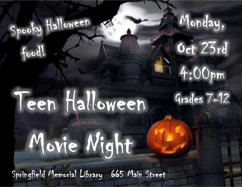 Halloween Movie Flyer 2017