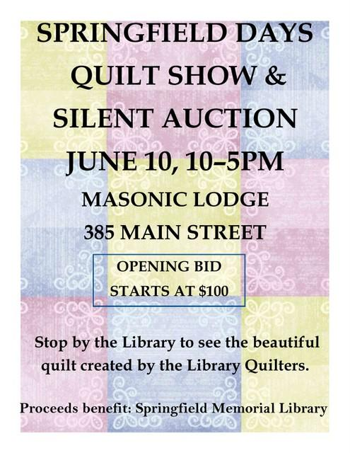 Quilt auction 2017