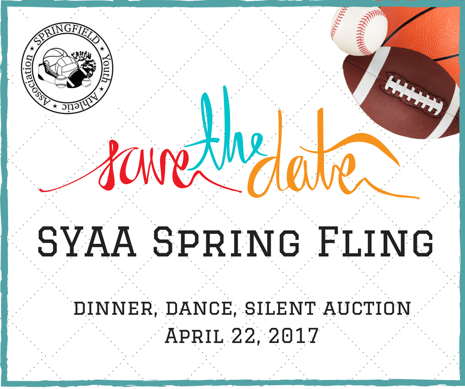 SYAA Spring Fling facebook post