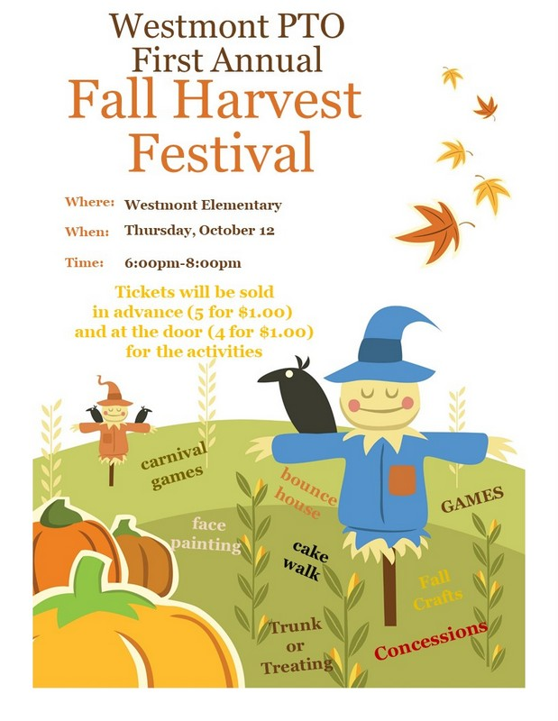 fall harvest flyerWestmont
