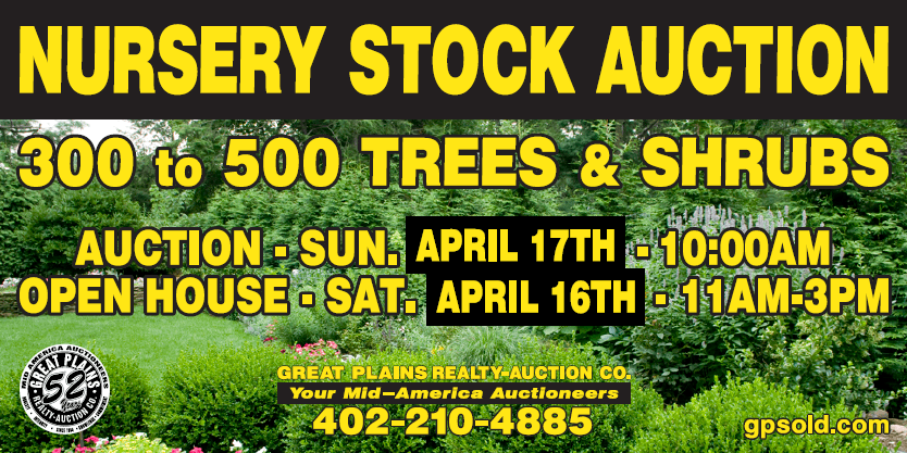 Nursery Stock auction copy
