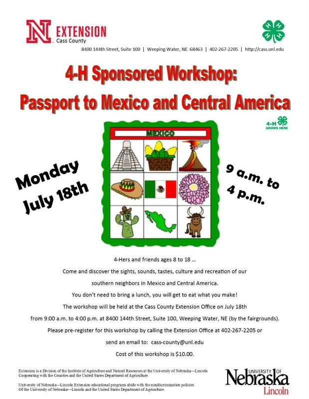 Passport to Mexico Central America