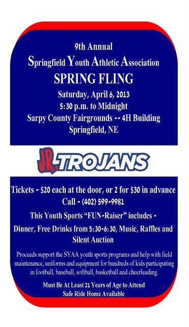 Spring Fling Flyer with Phone