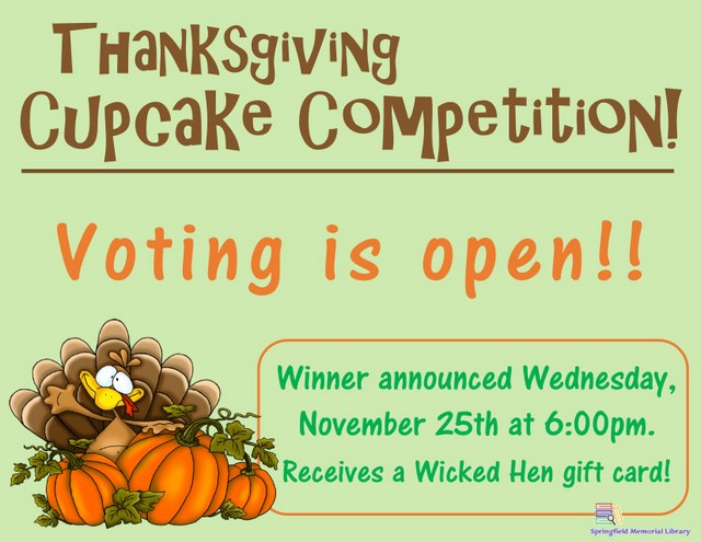 Thanksgiving Cupcake Competition Voting Flyer 001